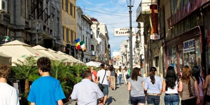 البلدة القديمة في بوخارست