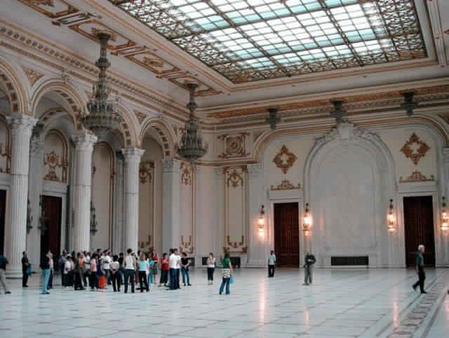 قصر البرلمان الروماني بوخارست