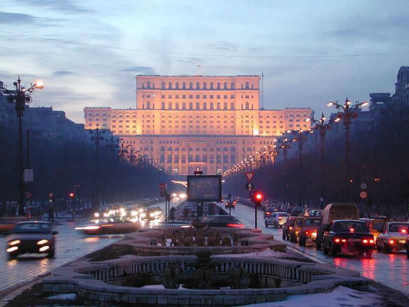 قصر البرلمان الروماني في بوخارست