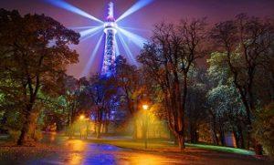 برج بترين في براغ من اجمل اماكن السياحة في براغ