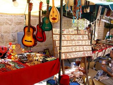 سوق جارا بالقرب من شارع الرينبو في عمان