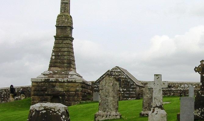 مقابر قلعة صخرة كاشيل
