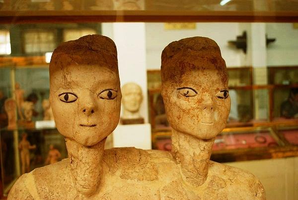 متحف الآثار بالقرب من المدرج الروماني في عمان
