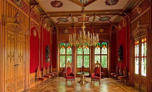 قاعة أوسكار في القصر الملكي في أوسلو