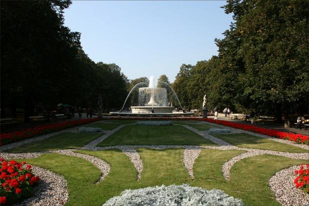 حديقة ساكسون وارسو