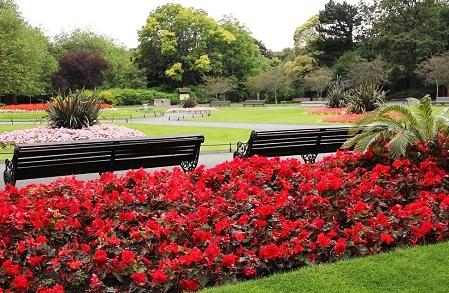 حديقة سانت ستيفنز جرين من افضل اماكن السياحة في دبلن