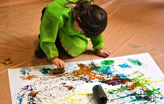 فوضى الألوان في متحف الأطفال الأردني في عمان