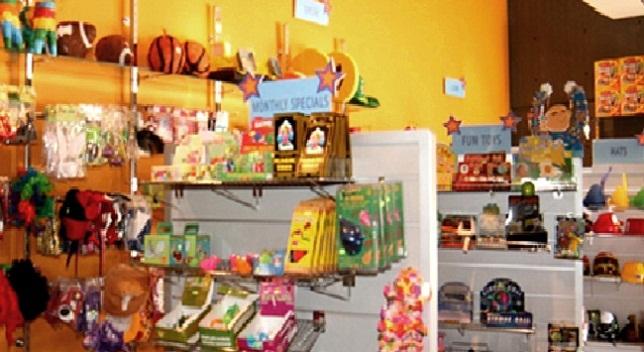 متجر الهدايا في متحف الأطفال الأردني في عمان