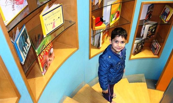 مكتبة متحف الأطفال الأردني في عمان