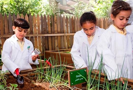 الحديقة السرية في متحف الأطفال الأردني في عمان