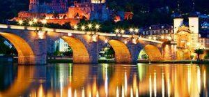 الجسر القديم في هايدلبرغ المانيا