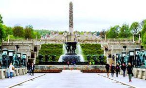 حديقة فيجلاند في اوسلو النرويج - تعتبر من اجمل اماكن السياحة في اوسلو النرويج
