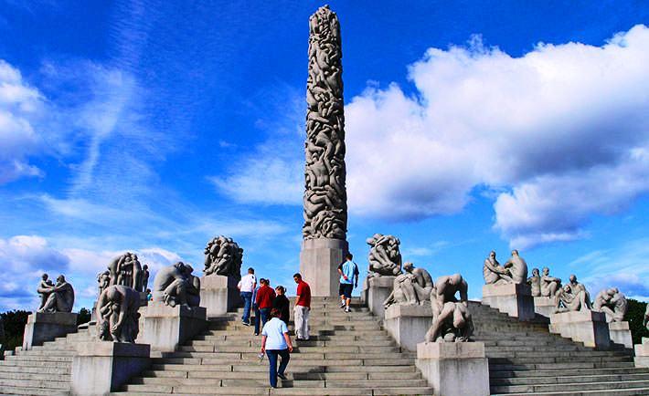 حديقة فيجلاند في أوسلو من اجمل اماكن في اوسلو سياحة