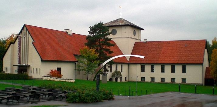 بوابة متحف سفينة الفايكينغ في أوسلو