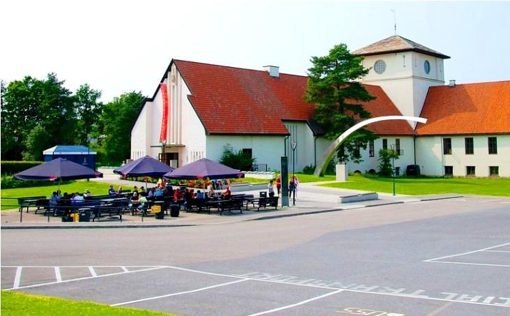حدائق متحف سفينة الفايكينغ في أوسلو