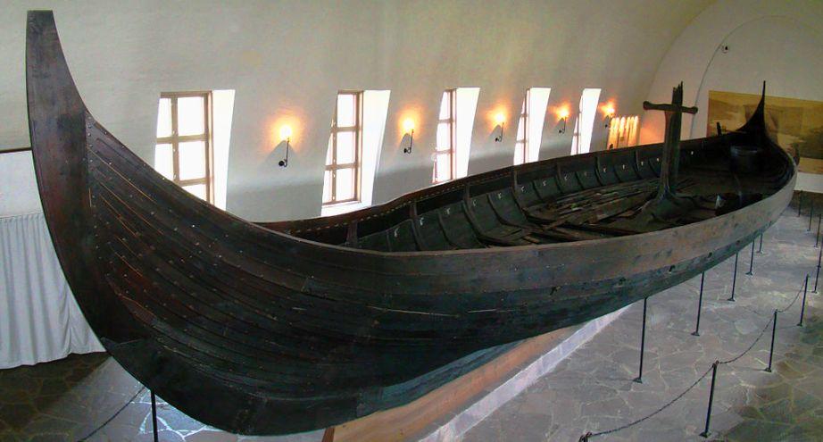 سفينة جوكستاد في متحف سفينة الفايكينغ في أوسلو