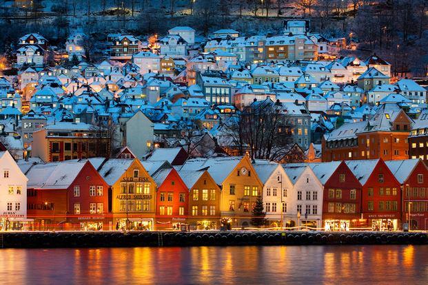 السفر الى النرويج سياحة - اهم مدن النرويج السياحية