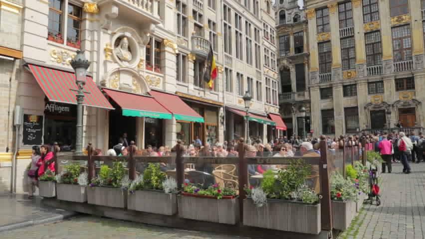 الميدان الكبير في مدينة بروكسل