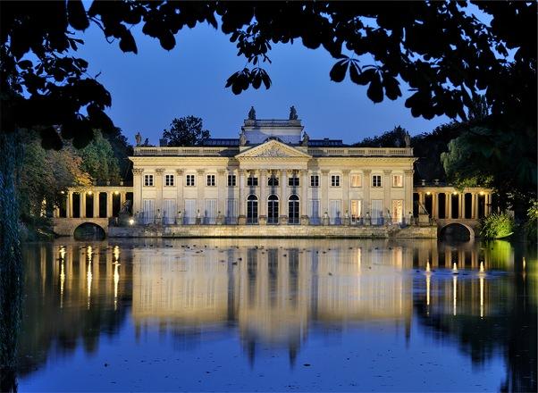 المنتزه الملكي في وارسو