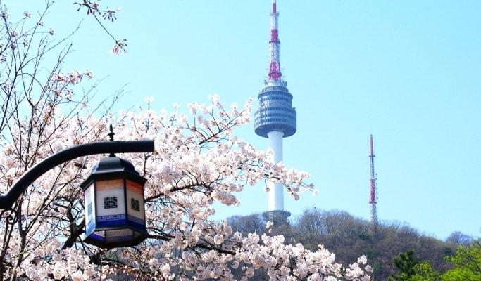 برج إن سيول من افضل اماكن السياحة في كوريا الجنوبية سيول
