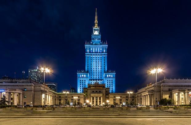 قصر الثقافة والعلوم وراسو - اماكن سياحية في وارسو
