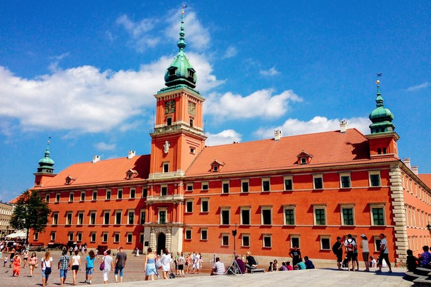 القصر الملكي في وارسو سياحة