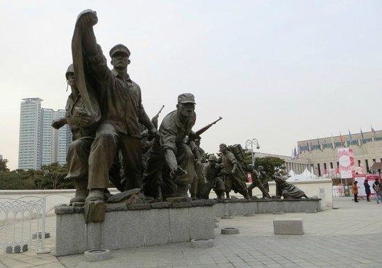 المتحف الحربي الكوري من افضل معالم مدينة سيول الكورية