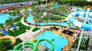 منتزه قطر المائي في الدوحة