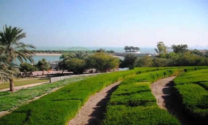 ممرات الجزيرة الخضراء في الكويت