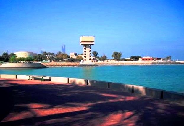برج الجزيرة الخضراء في الكويت
