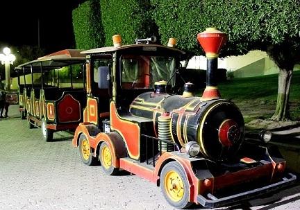 قطارات الجزيرة الخضراء في الكويت