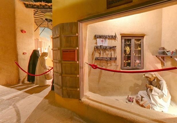 قاعة تاريخ المهن الحرفية الكويتية في متحف الكويت الوطني في الكويت - اماكن سياحية في الكويت سياحة