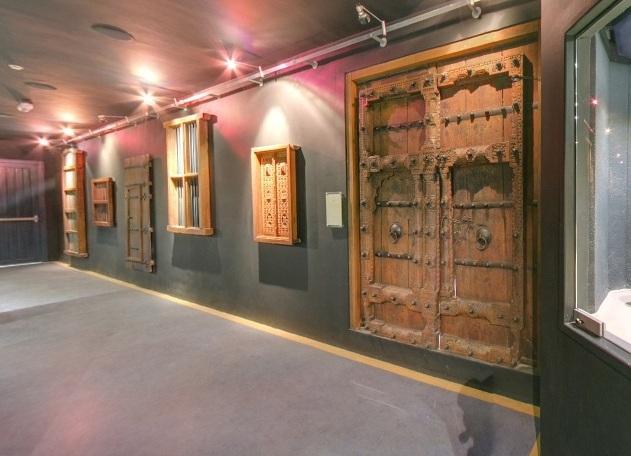 سمات العمران في متحف الكويت الوطني في الكويت