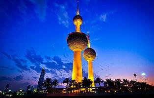 أبراج الكويت في العاصمة الكويتية من اهم معالم السياحة في الكويت
