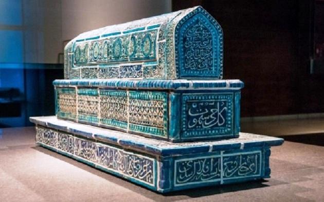 ضريح في متحف الفن الإسلامي في الدوحة