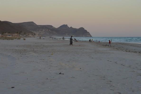 شاطئ المغيسل - صلالة