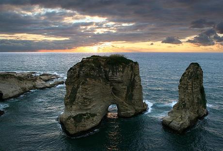 صخرة الروشة بيروت
