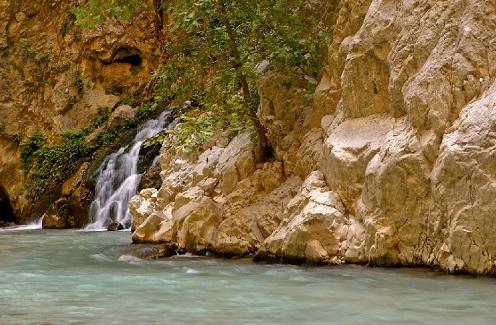 ممر ساكليكنت المائي في فتحية تركيا