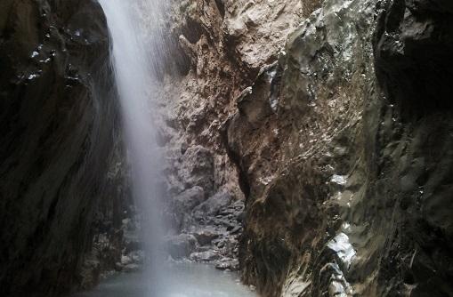 شلالات ممر ساكليكنت المائي في فتحية تركيا