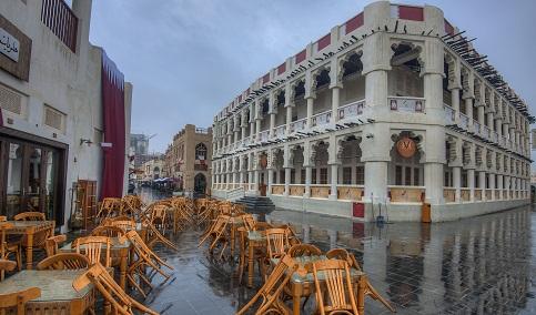 مطاعم سوق واقف في الدوحة