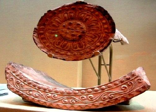 قطع أثرية من القرن 7م في متحف طوكيو الوطني