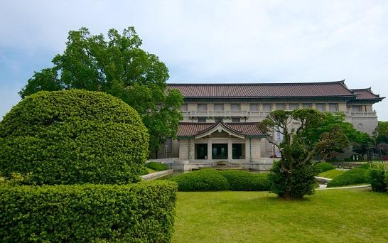 مدخل متحف طوكيو الوطني