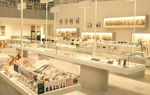 متجر الهدايا في متحف طوكيو الوطني