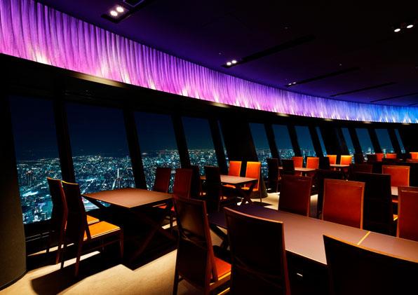 مطعم طوكيو سكاي تري