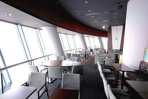 مقهى طوكيو سكاي تري