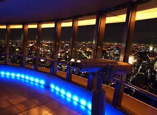 المرصد الخاص في برج طوكيو