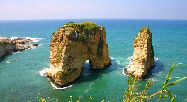 الروشة في بيروت
