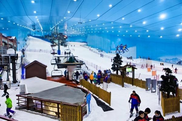 سكي دبي الحديقة الثلجية