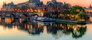 جزيرة إيل دو لا سيتي في باريس فرنسا