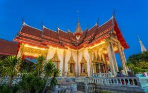 معبد وات تشالونغ بوكيت بتايلاند